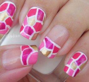 Μανικιούρ - μωσαϊκό: Το Mosaic Nail Trend είναι η vintage τάση στα νύχια που κάνει πάταγο! - Κυρίως Φωτογραφία - Gallery - Video