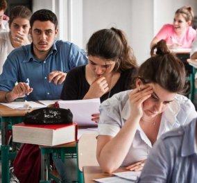 Κομφούζιο στις πανελλαδικές εξετάσεις: Δήλωση 5ου μαθήματος - Κυρίως Φωτογραφία - Gallery - Video