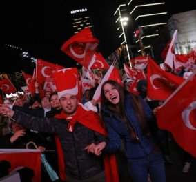 Ποιοι Τούρκοι φανατικοί υπέρ του Ερντογάν ζουν στην Ευρώπη; Πρώτοι του Βελγίου, δεύτεροι της Αυστρίας... - Κυρίως Φωτογραφία - Gallery - Video