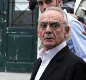 Επιστρέφει στη φυλακή ο Άκης Τσοχατζόπουλος - Δεν βρέθηκαν τα χρήματα - Κυρίως Φωτογραφία - Gallery - Video