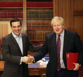 Στο Μαξίμου βρέθηκε σήμερα ο Βρετανός υπουργός Εξωτερικών Μπόρις Τζόνσον (Φωτό) - Κυρίως Φωτογραφία - Gallery - Video