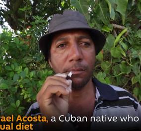 """Κουβανός μπορεί να μασάει γυαλιά χωρίς να παθαίνει το παραμικρό- Δείτε στο βίντεο το """"φαινόμενο"""" - Κυρίως Φωτογραφία - Gallery - Video"""