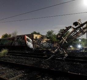 Τραγωδία στο Άδενδρο: Τρεις νεκροί από τον εκτροχιασμό αμαξοστοιχίας - Κυρίως Φωτογραφία - Gallery - Video