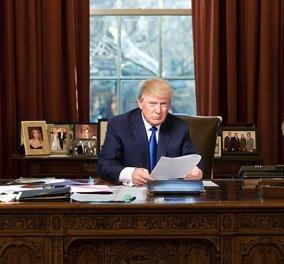 """Τι λείπει από τον Λευκό Οίκο; Μία """"αίθουσα πολέμου""""! Αυτό ετοιμάζει ο Τραμπ για να αντιμετωπίσει τα θέματα με τη Ρωσία - Κυρίως Φωτογραφία - Gallery - Video"""
