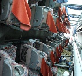 Σέρρες: Συγκλονιστικές φωτογραφίες από την ανατροπή του λεωφορείου με μαθητές - Κυρίως Φωτογραφία - Gallery - Video