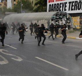 Τουρκία: Επεισόδια μεταξύ διαδηλωτών και αστυνομίας με αφορμή τον εορτασμό της Πρωτομαγιάς - Κυρίως Φωτογραφία - Gallery - Video