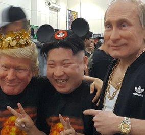 Ποιος είπαμε ότι είστε; Ο Κιμ Γιονγκ Ουν ή ο Πούτιν: Κατασκευάζει τόσο ρεαλιστικές μάσκες που .....τρομάζεις (Φωτό - Βίντεο) - Κυρίως Φωτογραφία - Gallery - Video