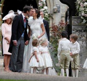 Νύφη η Πίπα Μίντλετον: Ο γάμος της χρονιάς με πρίγκιπες & πριγκίπισσες σε εξέλιξη - Πρώτες φωτό και βίντεο - Κυρίως Φωτογραφία - Gallery - Video
