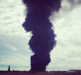 Ισχυρές εκρήξεις σε εργοστάσιο στη Μαδρίτη -Τουλάχιστον 15 τραυματίες (Φώτο & Βίντεο) - Κυρίως Φωτογραφία - Gallery - Video