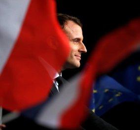 "Live: Γαλλικές προεδρικές εκλογές - Σαρωτική νίκη Μακρόν: ""Θα υπερασπιστώ την δημοκρατία,θα σας υπηρετήσω με αγάπη. Ζήτω η Γαλλία"" - Κυρίως Φωτογραφία - Gallery - Video"