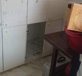 Να η ντουλάπα όπου κρυβόταν ο ληστής του Π. Φαλήρου: Φωτογραφίες στη δημοσιότητα - Κυρίως Φωτογραφία - Gallery - Video
