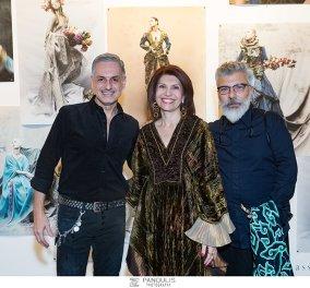 Φωτογραφίες από τα εγκαίνια της έκθεσης Orlando Dassios Kyris στην Evripides Art Gallery - Κυρίως Φωτογραφία - Gallery - Video