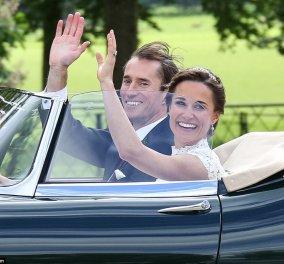 30 φωτογραφίες από τον γάμο της χρονιάς: Άστραφτε η Πίπα Μίντλετον, τα γλυκά παρανυφάκια & το πρώτο φιλί - Κυρίως Φωτογραφία - Gallery - Video