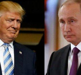 Επικοινωνία Πούτιν- Τραμπ για το συριακό ζήτημα, τη Β. Κορέα και την τρομοκρατία - Κυρίως Φωτογραφία - Gallery - Video