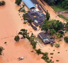 Σρι Λάνκα: 122 άνθρωποι έχασαν τη ζωή τους από τις πλημμύρες και τις κατολισθήσεις - Κυρίως Φωτογραφία - Gallery - Video