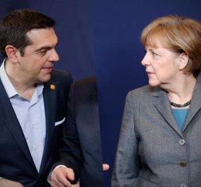 Στο τηλέφωνο Τσίπρας - Μέρκελ: Αναγκαίο & εφικτό να βρούμε λύση για το χρέος στο Eurogroup  - Κυρίως Φωτογραφία - Gallery - Video