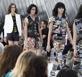 Louis Vuitton: Μετά το...ταγιεράκι της κυρίας Μακρόν, η επίδειξη μόδας με εκπληκτικά μοντέλα στην Ιαπωνία - Κυρίως Φωτογραφία - Gallery - Video