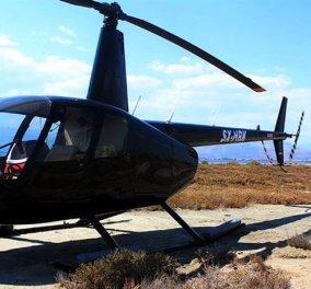 Πτώση ψεκαστικού ελικοπτέρου στον Σχοινιά- Τραγωδία με δύο νεκρούς- Βίντεο-Ντοκουμέντο μέσα από το ελικόπτερο - Κυρίως Φωτογραφία - Gallery - Video