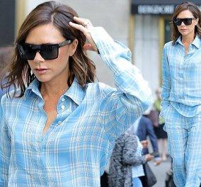 Η Victoria Beckham βγήκε στους δρόμους με την μπλε.. πυτζάμα της! Η Νέα Υόρκη την κούρασε (ΦΩΤΟ) - Κυρίως Φωτογραφία - Gallery - Video