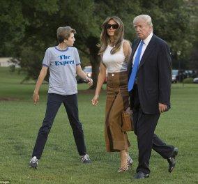 Οριστικά μετακόμισαν στον Λευκό Οίκο η Μελάνια και ο Μπάρον- Γιατί ήρθαν και τα πεθερικά του Τραμπ - Κυρίως Φωτογραφία - Gallery - Video