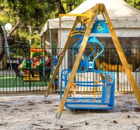 Good News: Ξεκίνησε την λειτουργία της πρωτότυπη παιδική χαρά ΑμεΑ στην Κηφισιά - Κυρίως Φωτογραφία - Gallery - Video