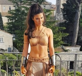 Άντρια Βασιλείου: Η Ελληνοκύπρια πρωταγωνίστρια στο top blockbuster του 2017- μια Wonderwoman σε δράση - Κυρίως Φωτογραφία - Gallery - Video