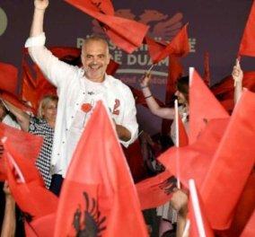 Αλβανία: Εκλογικός θρίαμβος για τον Έντι Ράμα- Κατακτά την αυτοδυναμία - Κυρίως Φωτογραφία - Gallery - Video