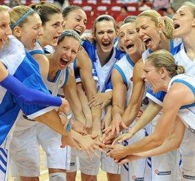 Good news: Η εθνική ομάδα γυναικών του μπάσκετ στους 8 της Ευρώπης- Ιστορική πρόκριση - Κυρίως Φωτογραφία - Gallery - Video