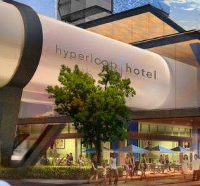 «Hyperloop Hotel»: Το πιο φουτουριστικό ξενοδοχειακό πρότζεκτ όραμα φοιτητή της αρχιτεκτονικής (Φωτό-Βίντεο) - Κυρίως Φωτογραφία - Gallery - Video