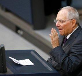"""Σόιμπλε για συμφωνία στο Eurogroup: """"Θα τα καταφέρουμε την Πέμπτη, θα δείτε""""! - Κυρίως Φωτογραφία - Gallery - Video"""