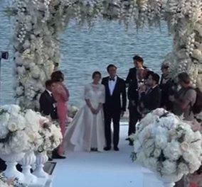 Ονειρικός γάμος Εβραίων στη Μύκονο: 10 βιολίστριες, 3 τραγουδιστές live & χιλιάδες λουλούδια με φόντο την παραλία της Ελιάς - Κυρίως Φωτογραφία - Gallery - Video