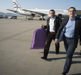 Στον αέρα έκανε βόλτες το αεροπλάνο με τον Αλέξη Τσίπρα- Γιατί δεν μπορούσε να προσγειωθεί στη Θεσσαλονίκη - Κυρίως Φωτογραφία - Gallery - Video