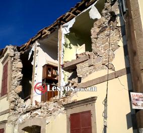 20 συγκλονιστικές φωτογραφίες από το σεισμό που ισοπέδωσε τη Βρίσα στη Λέσβο - Κυρίως Φωτογραφία - Gallery - Video