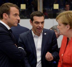 Handelsblatt: Ελπίδα για το ελληνικό χρέος η πρόταση του Γάλλο Πρόεδρο Εμανουέλ Μακρόν - Κυρίως Φωτογραφία - Gallery - Video