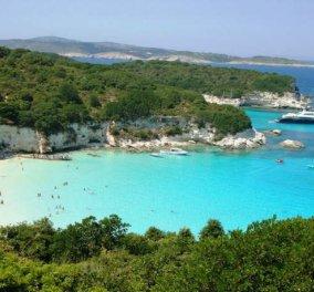 Το Βουτούμι των Παξών ανάμεσα στις 10 καλύτερες παραλίες της Ευρώπης - Κυρίως Φωτογραφία - Gallery - Video