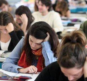 Συνεχίζονται οι Πανελλαδικές εξετάσεις σήμερα για τους υποψηφίους των ΕΠΑΛ- Δείτε τα θέματα - Κυρίως Φωτογραφία - Gallery - Video