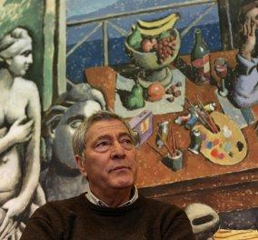 Ο Μεγάλος Έλληνας ζωγράφος Παύλος Σάμιος στη Ρόδο: Ο Πικάσο με τράνταξε στα 17 μου χρόνια – Τον κουβαλάω μέσα μου - Κυρίως Φωτογραφία - Gallery - Video
