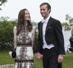 Το διάσημο νιόπαντρο ζευγάρι Pippa & James τρισευτυχισμένοι καλεσμένοι σε γάμο φίλων στην Στοκχόλμη (Φωτό) - Κυρίως Φωτογραφία - Gallery - Video