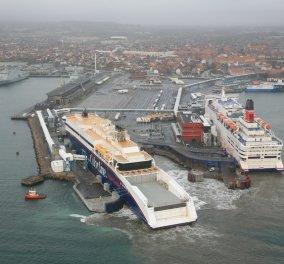 Απειλητικο τηλεφωνημα& Συναγερμός σε λιμάνι της Δανίας - Εκκενώθηκαν όλα τα επιβατικά πλοία - Κυρίως Φωτογραφία - Gallery - Video