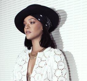 """""""Μαύρο Διαμάντι"""" η Rihanna: Εμφανίστηκε στο Παρίσι φορώντας κοσμήματα Chopard - Κυρίως Φωτογραφία - Gallery - Video"""