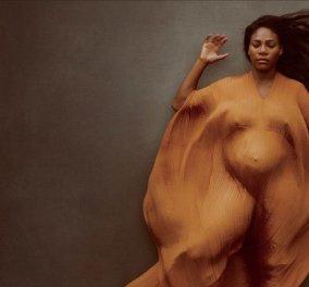 """Σαγηνευτική η """"mother to be"""" υπεραθλήτρια Σερένα Γουίλιαμς στο εξώφυλλο του Vanity Fair (Φωτό) - Κυρίως Φωτογραφία - Gallery - Video"""