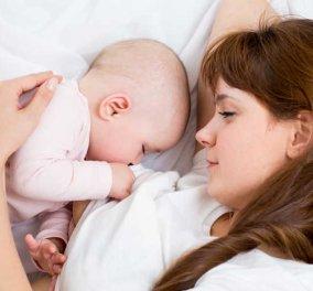 Θηλασμός: Ωφέλιμος όχι μόνο για το μωρό αλλά και για τη μητέρα- Μειώνονται καρδιακός κίνδυνος & εγκεφαλικά - Κυρίως Φωτογραφία - Gallery - Video