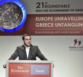 """Τσίπρας: """"Η Ελλάδα θα βγει στις αγορές με το σπαθί της - Το καλοκαίρι του 2018 αποχαιρετούμε τα μνημόνια"""" (Βίντεο) - Κυρίως Φωτογραφία - Gallery - Video"""