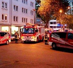 Δεκάδες τραυματίες, ανάμεσά τους και παιδιά σε κέντρο προσφύγων στην Γερμανία - Κυρίως Φωτογραφία - Gallery - Video