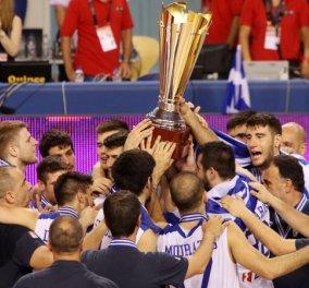 "Eurobasket U-20: ""Χρυσό"" μέλλον -  Πρωταθλήτρια Ευρώπης η Εθνική Νέων Ανδρών  - Κυρίως Φωτογραφία - Gallery - Video"