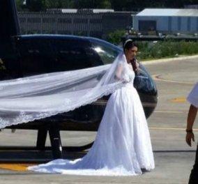 Βίντεο- Ασύλληπτη τραγωδία : Η έγκυος Νύφη σκοτώθηκε με το ελικόπτερο που πήγαινε στο γάμο - Κυρίως Φωτογραφία - Gallery - Video
