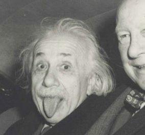 Αϊνστάιν:  Η φωτογραφία του με τη γλώσσα έξω πουλήθηκε 125.000 δολάρια - Κυρίως Φωτογραφία - Gallery - Video