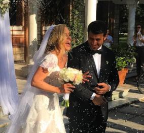 Γάμος & βάφτιση του παιδιού της: H Χριστίνα Αλούπη παντρεύτηκε στην Θεσσαλονίκη Ελληνοαμερικανό επιχειρηματία  - Κυρίως Φωτογραφία - Gallery - Video
