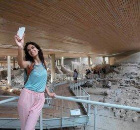 COSMOTE: Wi-Fi σε Ακρωτήρι Σαντορίνης, Δελφούς, Δήλο - συνολικά σε 20 αρχαιολογικούς χώρους σε όλη την Ελλάδα - Κυρίως Φωτογραφία - Gallery - Video
