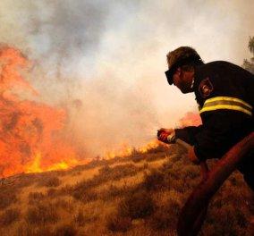 Σαρώνει η φωτιά στην Μάνη: Σε κίνδυνο ζωές, κάηκαν σπίτια - Τυλίχθηκε στις φλόγες το αυτοκίνητο του δημάρχου - Κυρίως Φωτογραφία - Gallery - Video